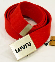 LEVIS RETRO MOD INDIE CANVAS BELT RETRO BELT MODS