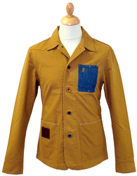 LUKE 1977 TRAILER WORKERS JACKET RETRO JACKET MOD