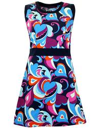 MADCAP ENGLAND RETRO MOD PAISLEY CLOUD DRESS