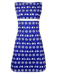 MADCAP ENGLAND RETRO 60S MOD SCOOTER DRESS