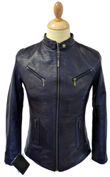 MADCAP ENGLAND RETRO RACER JACKET INDIE LEATHER