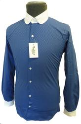 MADCAP PICCADILLY RETRO MOD PENNY COLLAR SHIRT