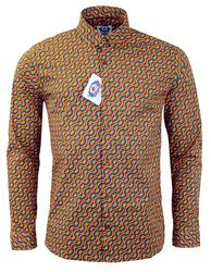 MENS RETRO RAINBOW SHIRT