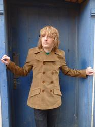 Rare Breed Camel Cord Retro Mod Jacket