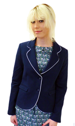MERC WOMENS RETRO MOD SIXTIES BLAZER JACKET MODS