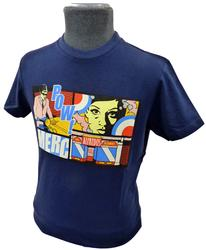 MERC RETRO SIXTIES MOD POP ART T-SHIRT RETRO TEE