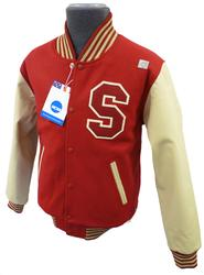 NCAA COLLEGIATE VINTAGE VARSITY JACKET MENS RETRO