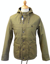ORIGINAL PENGUIN MENS RETRO MOD INDIE ANORAK COAT