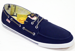 ORIGINAL PENGUIN RETRO BOAT SHOES RETRO MOD SHOES