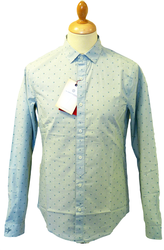 ORIGINAL PENGUIN MENS RETRO SIXTIES FIFTIES SHIRT