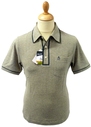 ORIGINAL PENGUIN EARL POLO RETRO FIFTIES POLO MOD