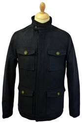 ORIGINAL PENGUIN MENS MILITARY COAT RETRO COAT