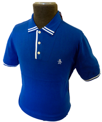 ORIGINAL PENGUIN MENS MOD FIFTIES POLO IVY LEAGUE