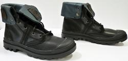 PALLADIUM MENS RETRO LEATHER PALLADIUM BOOTS