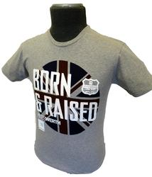 PETER WERTH BORN AND RAISED MOD TSHIRT RETRO TEE