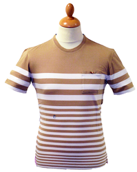 PETER WERTH HALIBUR T-SHIRT BRETON TEE MOD SIXTIES