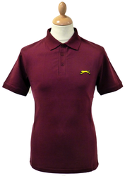 SLAZENGER HERITAGE GOLD CLEEK POLO RETRO MOD POLO