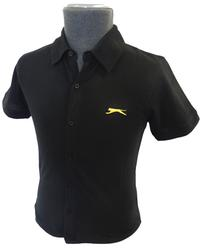 SLAZENGER HERITAGE GOLD MENS FLIGHT SHIRT RETRO