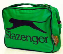 SLAZENGER HERITAGE GOLD SHOULDER BAG RETRO BAGS