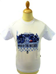 STOMP RETRO T-SHIRT MODS T-SHIRT MARCH OF THE MODS