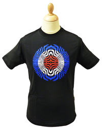 STOMP MOD RETRO PSYCHEDELIC TARGET T-SHIRT TEE