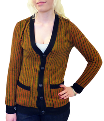RETRO VINTAGE BOYFRIEND FIT SUPERTONE CARDIGAN MOD