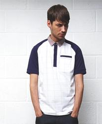 SUPREME BEING MENS RETRO MOD INDIE FRANKIE POLO