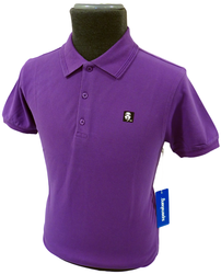 SUPREME BEING MENS RETRO POLO MOD POLO SHIRT