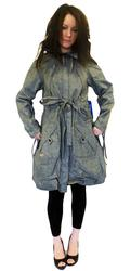 SUPREME BEING WOMENS DIXI PARKA COAT RETRO JACKET