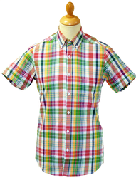 TUKTUK RETRO MOD SEVENTIES SHIRT PRINTERS CHECK