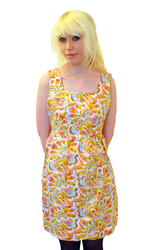 TULLE Boogie Down Retro 60s Mod Floral Dress