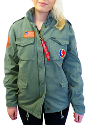 Love & Peace ALPHA INDUSTRIES Retro Field Jacket