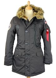 Polar ALPHA INDUSTRIES Retro Mod Womens Parka (RG)