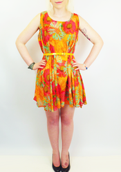 Corey ANDY WARHOL Retro Sixties Pop Art Dress