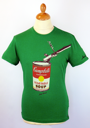 Flavour ANDY WARHOL Campbells Soup Pop Art Tee