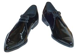 'Bailey Winklepicker' Patent Leather Winklepickers