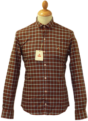 Cooper BARACUTA Retro Mod Short Collar Check Shirt