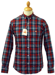 Circus BARACUTA Retro Mod Check Button Down Shirt