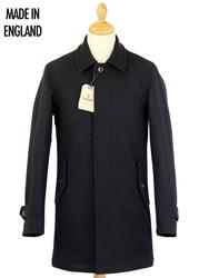 BARACUTA Made in England Melton Trench Coat (N)