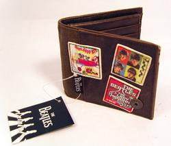 'Beatles Military Wallet' - Retro Beatles Wallet