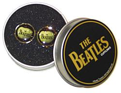 'Beatles Apple Cufflinks' Sixties Retro Cuff links