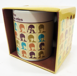 Hard Day's Night's Colours BEATLES Retro 60s Mug