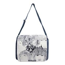 Revolver BEATLES Retro Indie Satchel Shoulder Bag