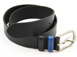 BEN SHERMAN Retro Mod Colour Keeper Belt BLACK