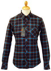 Brushed Cotton BEN SHERMAN Retro Mod Check Shirt N