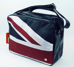 Union Jack BEN SHERMAN Retro Mod Airline Bag (N)