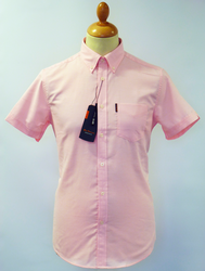 House Oxford BEN SHERMAN Retro Mod S/S Shirt LP