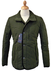 BEN SHERMAN Retro 60s Mod Fitted Hunting Jacket