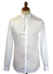 Ben Sherman Tailoring Bluff Collar Retro Mod Shirt
