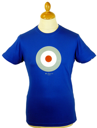 Throne BEN SHERMAN Mod Target Retro Indie Tee CB